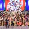 Участие Лидера нации Эмомали Рахмона в фестивале «Таджикский атлас и адрас-2020» во Дворце Арбоб Март 26, 2020 12:42